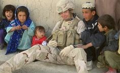 Send those stuffed animals we don't use to kids in Iraq and Afghanistan