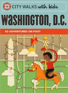 """Buy Washington, D. by Ingrid Roper Catron at Mighty Ape NZ. For families planning a holiday to Washington D. or native D. parents looking for fresh activity ideas, """"City Walks with Kids: Washington D. Washington Dc With Kids, Washington Dc Travel, Travel With Kids, Family Travel, Family Trips, International Spy Museum, East Coast Road Trip, Beach Trip, Day Trips"""