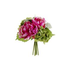 Fuchsia Silk Bouquets for Weddings at Afloral.com | Silk Wedding... ($8.99) ❤ liked on Polyvore featuring home, home decor, floral decor, flowers, plants, silk floral centerpieces, flower centerpieces, flower arrangement, silk flower bouquets and floral centerpieces