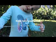Colorful Whirlygig Need cardboard and thread Craft Projects For Kids, Science Projects, Diy Crafts For Kids, Activities For Kids, Diy Crafts Games, Vbs Crafts, Kids Study, Theme Days, Operation Christmas Child