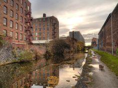 Ashton Canal, Ancoats, Manchester, England, United Kingdom, 2012, photograph by David Dixon.