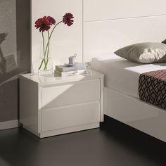 White Side Table, 50 x 39 x Wardrobe Design Bedroom, Bedroom Furniture Design, Bedroom Decor, Bedside Table Decor, Nightstand, Side Tables Bedroom, White Side Tables, Cute Room Decor, Bedroom Night Stands