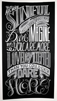 Hand Lettering Poster by Katherine Rainey, via Behance----Only The Good Die Young = P graphics (hand lettering quotes easy) Chalk Lettering, Types Of Lettering, Typography Letters, Lettering Design, Design Poster, Graphic Design, Typographie Inspiration, Hand Drawn Type, Chalkboard Art