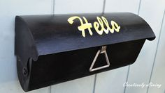 simple mailbox makeover, curb appeal, outdoor living