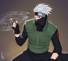 Anime:Naruto Name:Kakashi Hatake Name:Naruto Uzumaki den Kakashi Sharingan, Naruto Shippuden Sasuke, Naruto Kakashi, Anime Naruto, Art Naruto, Manga Anime, Boruto, Naruto Sketch, Shikamaru