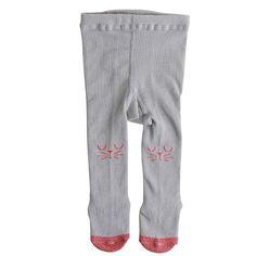 C$ 3.35 Baby Girl Kids Cat Print Hosiery Pantyhose Pants Stockings Hose Tights