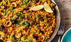 thepool http://www.the-pool.com/food-home/recipes/2017/21/chorizo-and-black-olive-paella