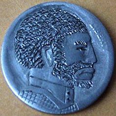 "74 BILL ""BILLZACH"" JAMESON HOBO NICKEL - NO DATE BUFFALO PROFILE Hobo Nickel, Buffalo, Carving, Profile, User Profile, Wood Carvings, Sculptures, Printmaking, Water Buffalo"