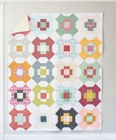 Quilty Love | Sweet Summertime quilt