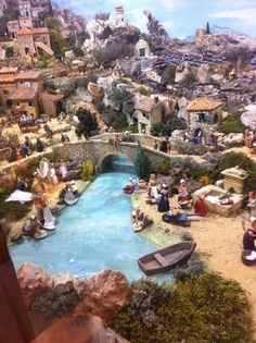 1 million+ Stunning Free Images to Use Anywhere Christmas Village Display, Christmas Nativity Scene, Christmas Villages, A Christmas Story, Christmas Decorations, Nativity House, Diy Nativity, Village Miniature, Fontanini Nativity