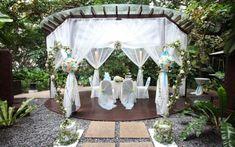 outside wedding | Outdoor Wedding Venue Decoration Ideas Outdoor Christmas Decorations ...