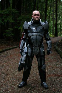 mass effect 3 n7 armor template - mass effect n7 armor project by hsholderiii art work
