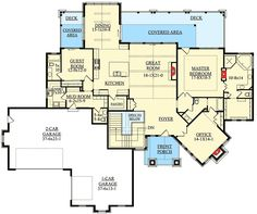 Lower Level Living - 9525RW | 1st Floor Master Suite, Butler Walk-in Pantry, CAD Available, Corner Lot, Craftsman, Den-Office-Library-Study, European, In-Law Suite, Luxury, Media-Game-Home Theater, Mountain, PDF, Photo Gallery, Sloping Lot | Architectural Designs