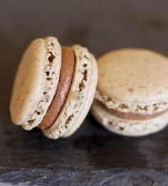 Coffee & Chocolate Macaron Assortment