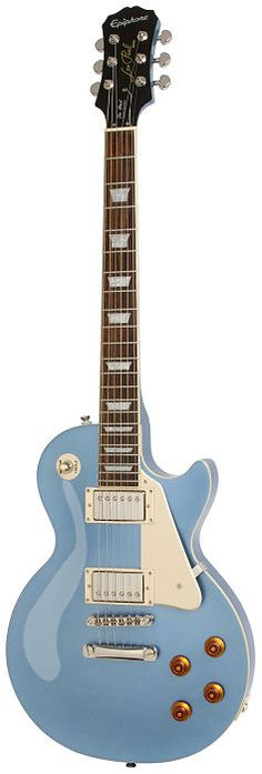 Guitarra+Epiphone+Les+Paul+Standard+Pelham+Blue  Les+Paul+Standard  Epiphone's+history+with+legendary+guitarist+and+innovator+Les+Paul+dates+back+to+the+early+1940's+when+Les,+working+late+at+nigh...