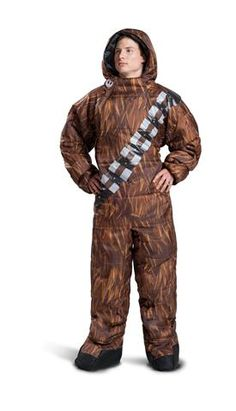 Selk'bag Star Wars Chewbacca Men. A sleeping bag you can WALK in, there are FOUR Star Wars themed!