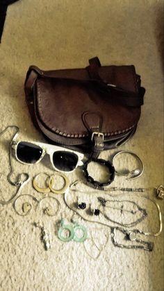 Mixed handbag jewelry lot