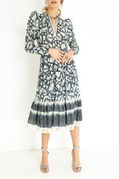 NADIA DRESS Ulla Johnson, Dresses With Sleeves, Long Sleeve, Collection, Fashion, Moda, Sleeve Dresses, Long Dress Patterns, Fashion Styles