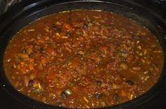 Hot Vegan Chili.  Healthy, Vegan, Low Fat, Low G.I, High Protein, High Fiber.