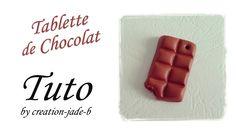 Tuto Fimo - Tablette de chocolat !