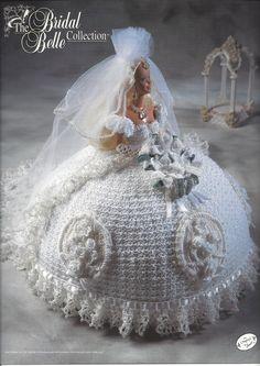 Bride Doll Crochet Pattern The Bridal by KnitKnacksCreations