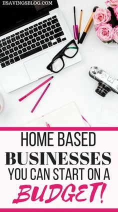 Home Business Ideas With Low Investment! Thinking about starting a business but don't have a lot of money? Check out these Home Businesses you can start on a budget! Earn Money From Home, Earn Money Online, Make Money Blogging, Online Jobs, Way To Make Money, Saving Money, Money Tips, Money Fast, Blogging Ideas