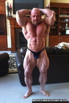 Six Pack Abs Man: Branch Warren 8 weeks out from the 2012 Arnold Classic