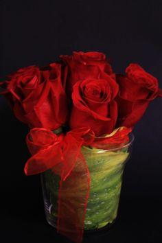 Arreglo rosas rojas