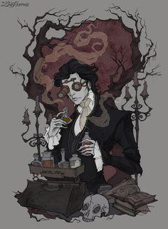 savvyshka Ichabod Crane by IrenHorrors  Reminds me about Severus