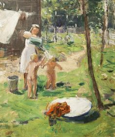 «Жаркий полдень». 1960-е. Пластов Аркадий Александрович (1893 - 1972)