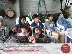 Viernes 24 de junio, Centro Cultural Nimbe  2a Proyección del documental: Dulce Agonía, los estragos de la chatarra en el Estado de México. Invitó: Agrupación Cultural Ozumba  ¡Gracias por compartir!