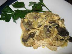Bariatric Foodie: Crockpot Chicken with Mushrooms