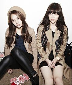 f(x)'s Krystal & Sulli // Oh Boy!