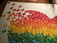 Rainbow. Butterfly. Selfmade.