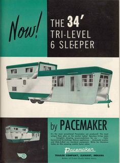 Pacemaker's 34 foot Tri-Level Mobile Home