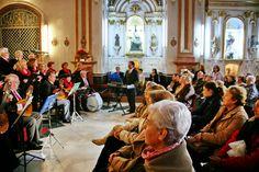 Hora de Mercado, Hora de Música. 03 de Enero de 2015. Concierto Coral Voces para el recuerdo.