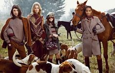 Equestrian fashion - by Tommy Hilfiger <> (to the manor born, apparel, style)