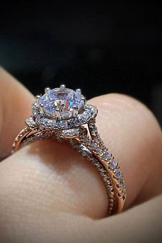 Rose Gold Engagement Rings By Famous Jewelers ★ See more: https://ohsoperfectproposal.com/rose-gold-engagement-rings/ #engagementring #proposal