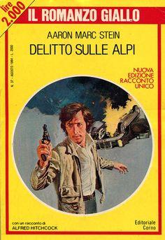 """""""Il Romanzo Giallo"""" n. 37 (agosto 1984) Editoriale Corno Cover di Loris Bonavoglia"""