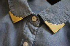 DIY collar tips