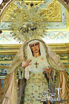 Virgen de las Angustias, mayo 2014.  Fotos Álvaro Heras Damas