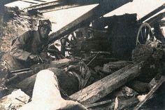Bataille du Chemin des Dames - Plateau des Casemates (photo VestPocket Kodak Marius Vasse 1891-1987) |