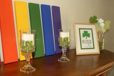 """My St. Patrick's Day """"mantle"""""""