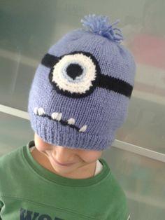 Cappellino in lana Evil Minion (Cattivissimo Me 2)