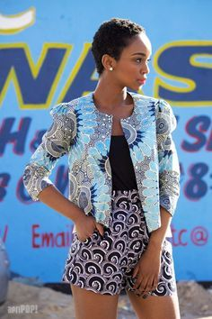 Street Style Fashion For 2017 2018 South Africa ⋆ - Gifted. South African Fashion, African Inspired Fashion, African Print Fashion, Tribal Fashion, Look Fashion, Fashion Prints, Africa Fashion, Fashion Ideas, African Attire