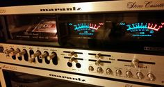 Marantz 5220 in action... What a beautiful sound!