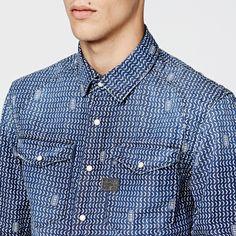 Arizona zip shirt l/s-Men-Shirts-G-Star #indigos #focusonjeans®