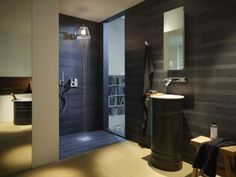 Une douche ultra design  - Douche à l'italienne