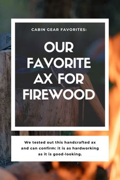 Cabin Life staff tested out a handcrafted ax from Hults Bruk and can confirm: it is as hardworking as it is good-looking. Cabin Activities, Wood Supply, Little Cabin, Cozy Cabin, Firewood, How To Look Better, About Me Blog, Good Things, Modern