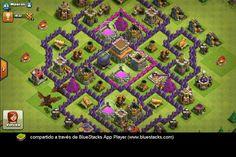 aldea th8 clash of clans